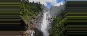 Guatemala Chilasco Waterfall