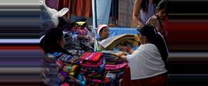 Ecuador Otavalo Textile Market
