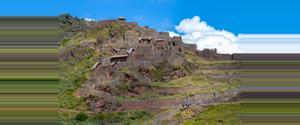 Peru Pisac Ruins