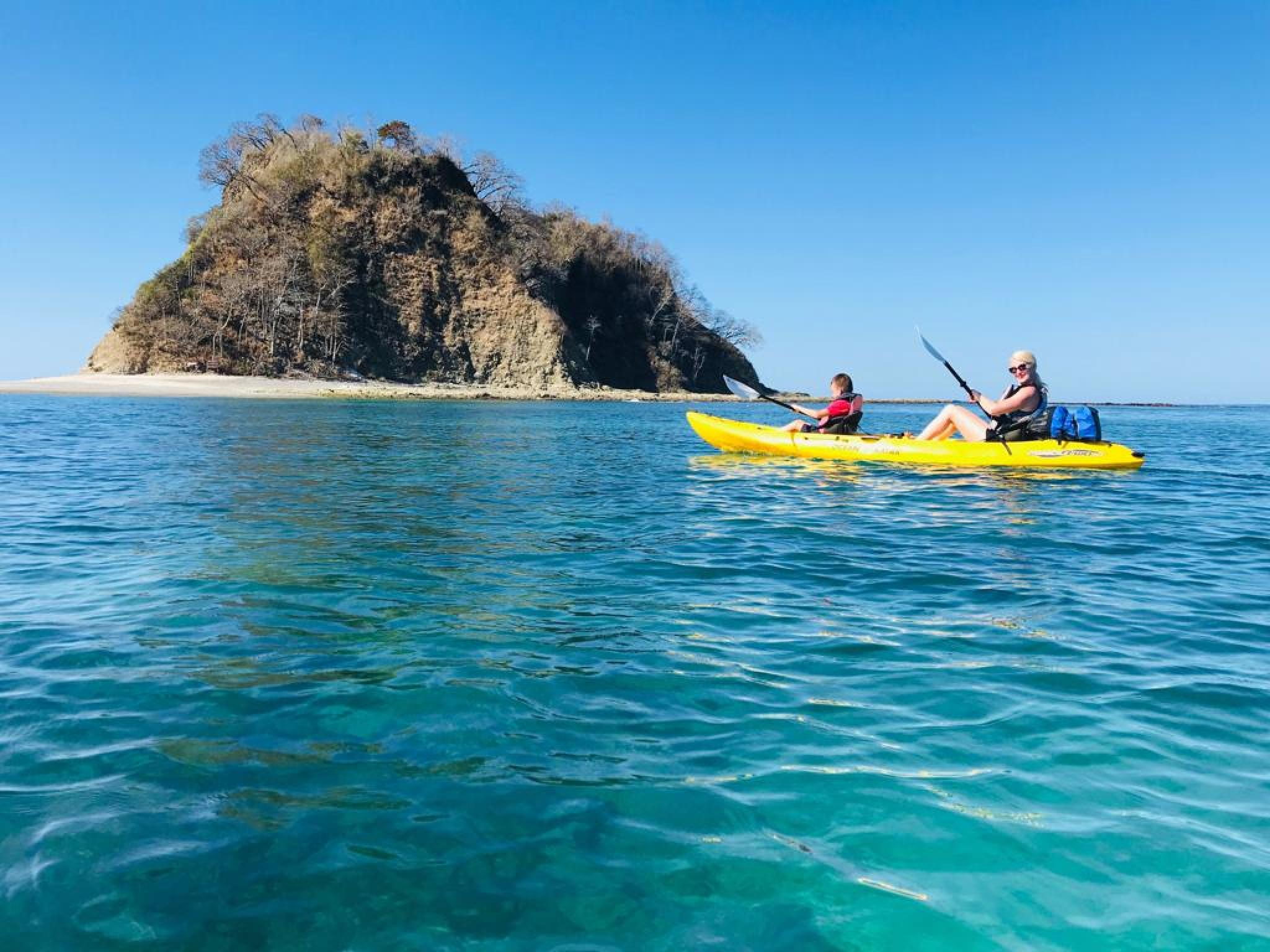 Ocean Kayak and Snorkel Isla Chora