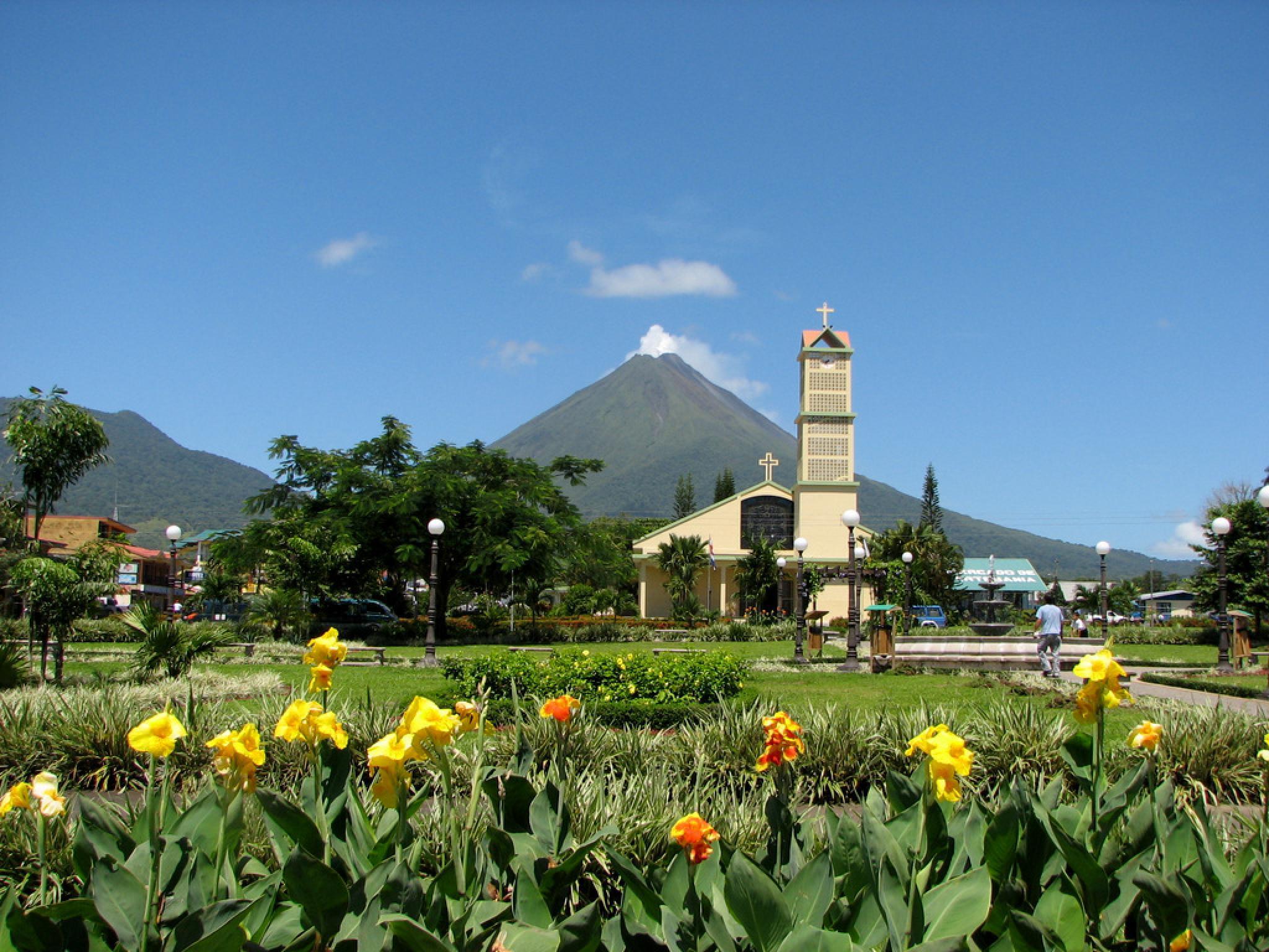El Volcán Arenal y La Fortuna