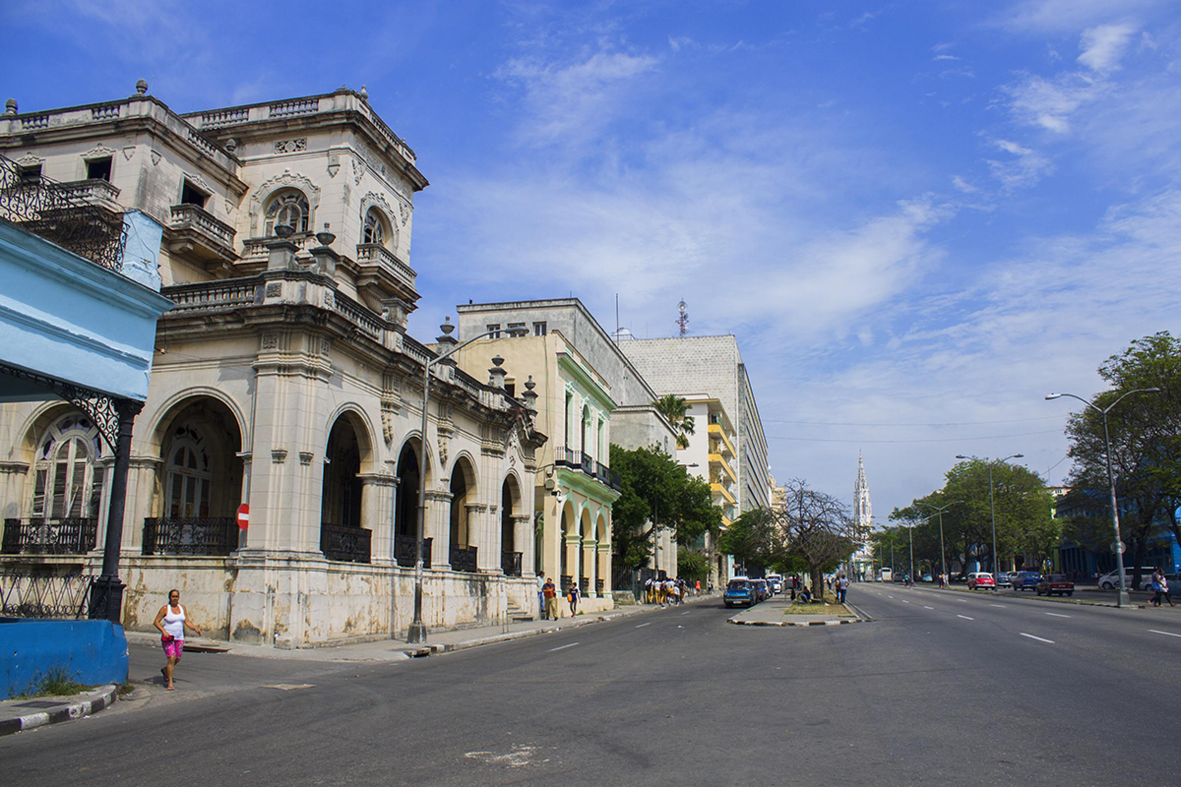 Central Havana Neighborhood