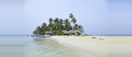 Panama Isla Coco Blanco