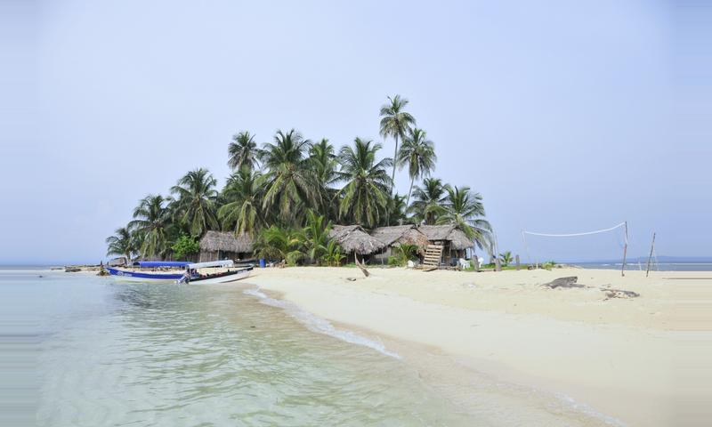 Coco Blanco Island