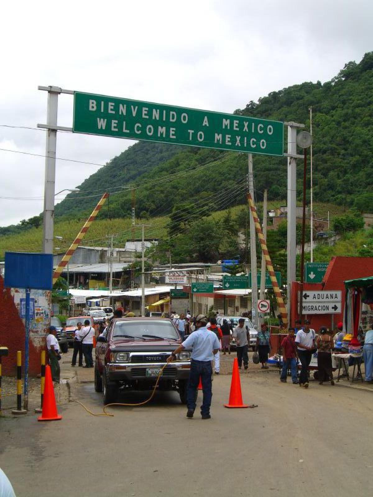 La Mesilla (frontera México)