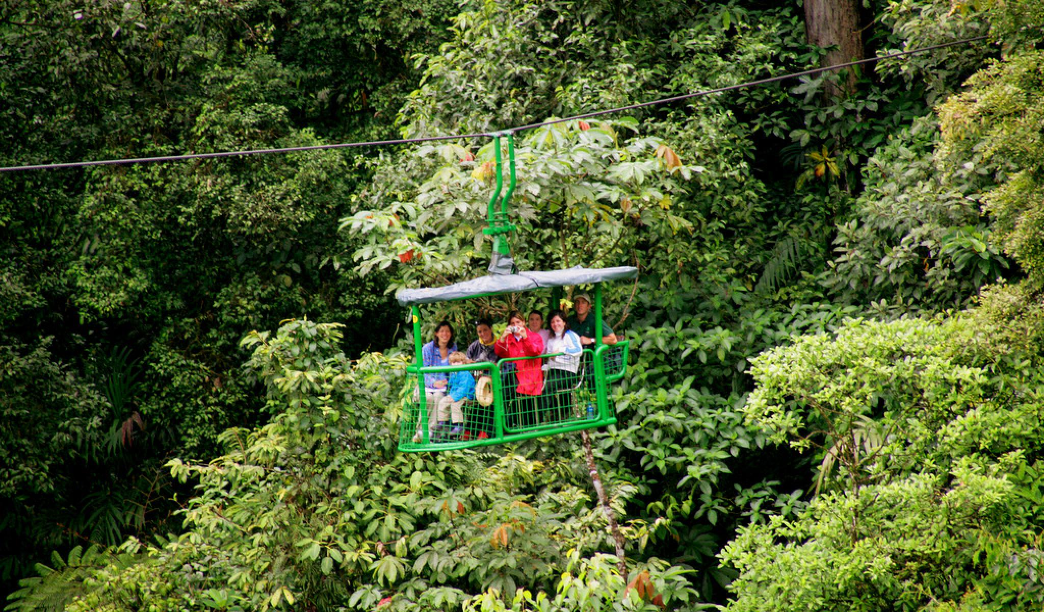 Rainforest Tram Alantic, Costa Rica