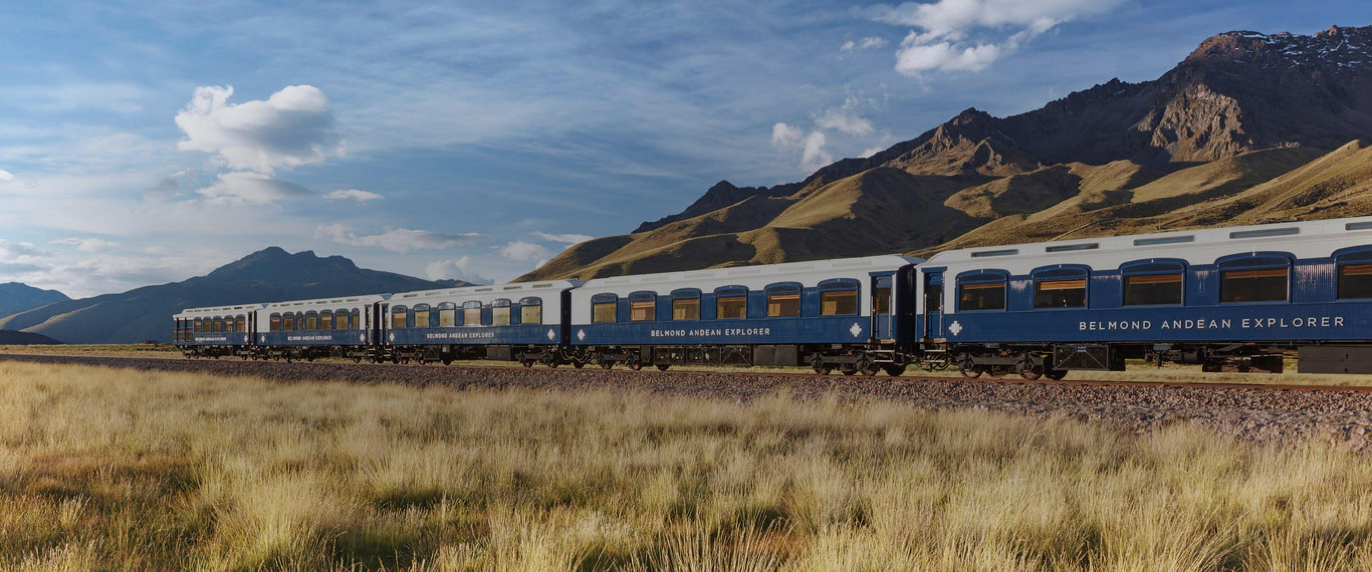 Belmond Andean Explorer - Train Hotel 1Night - Cusco to Puno