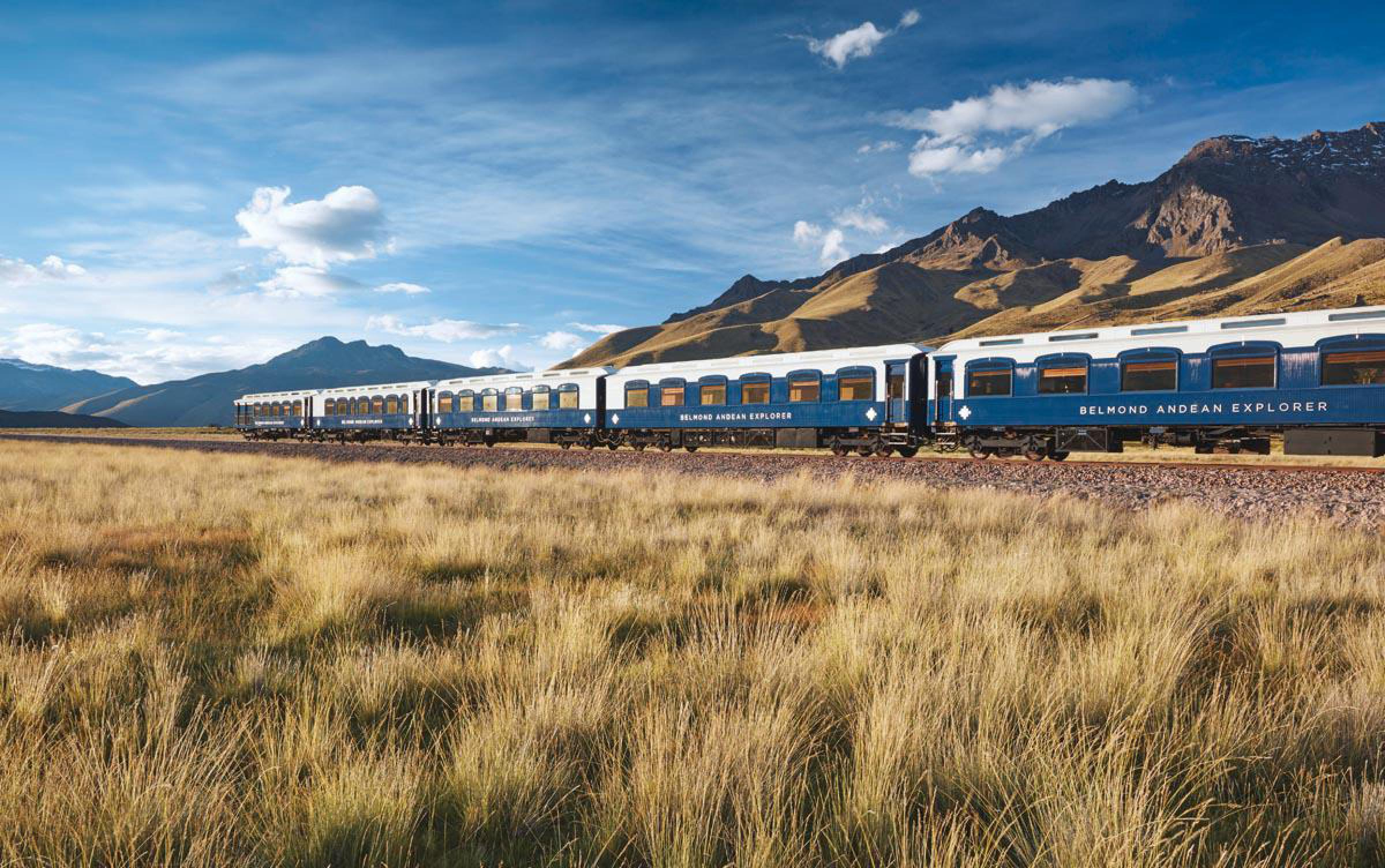 Belmond Andean Explorer Train-Hotel Cusco to Arequipa