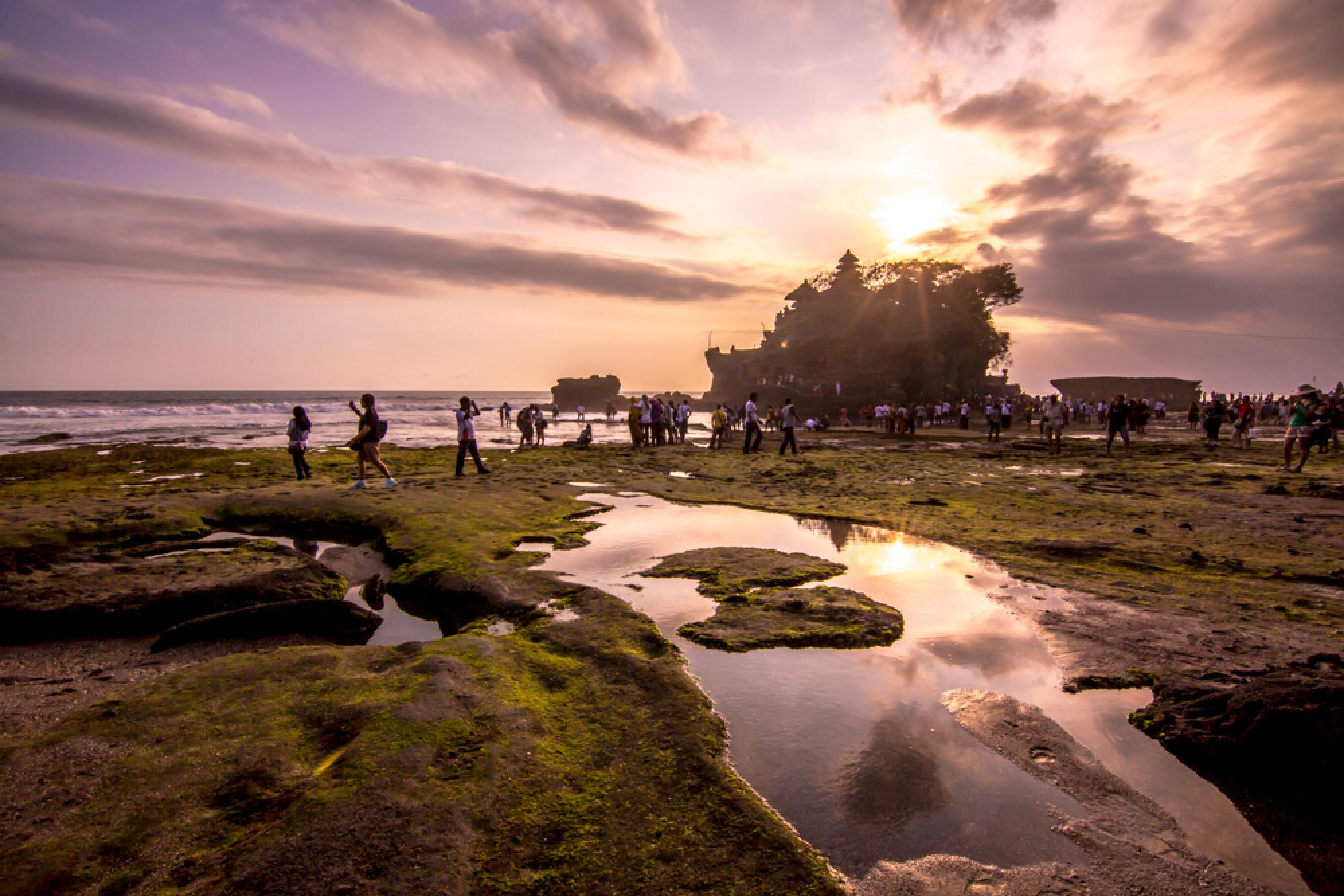 Morning Adventure at Tanah Lot
