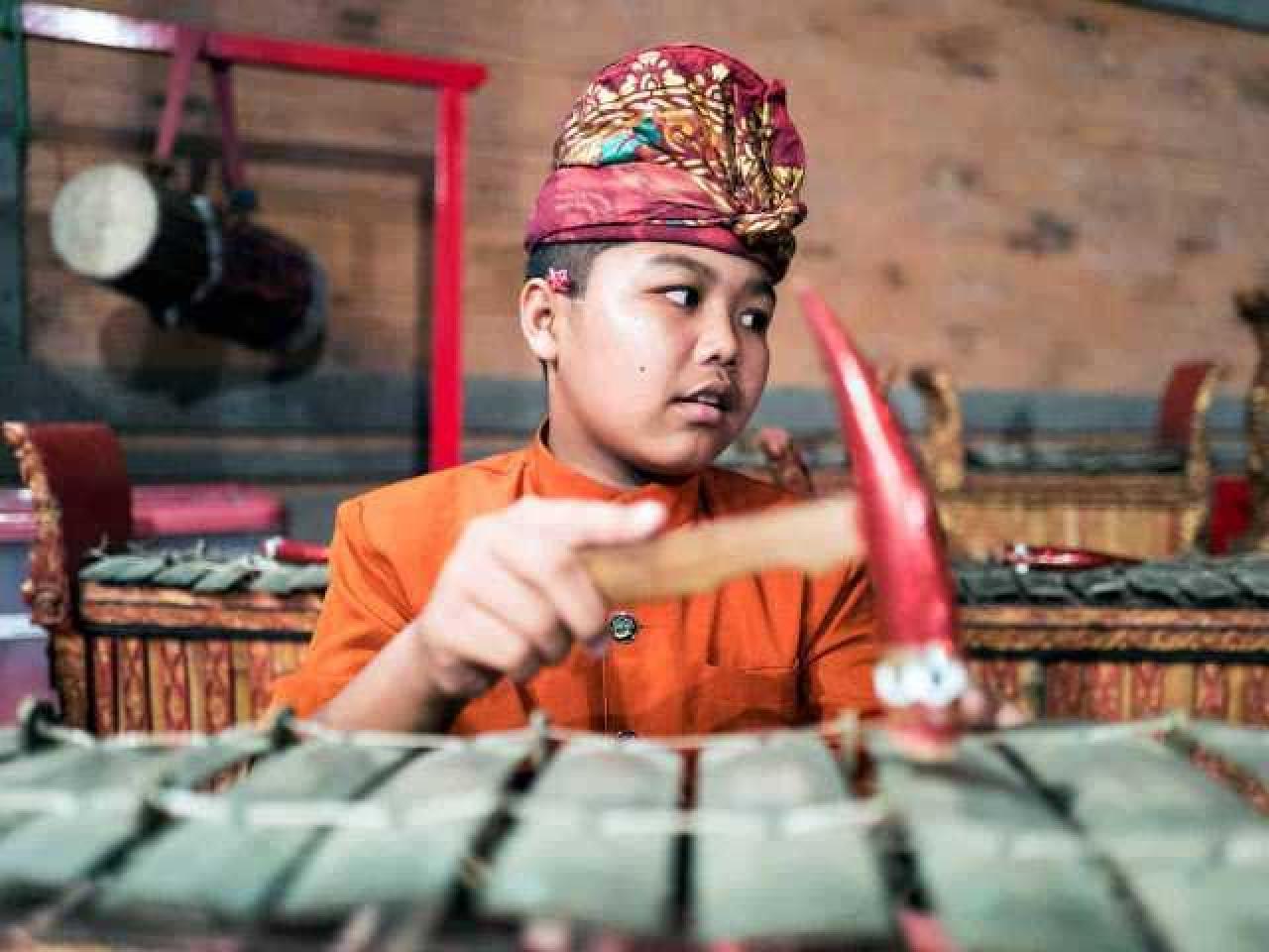 Balinese Gamelan Music Lesson