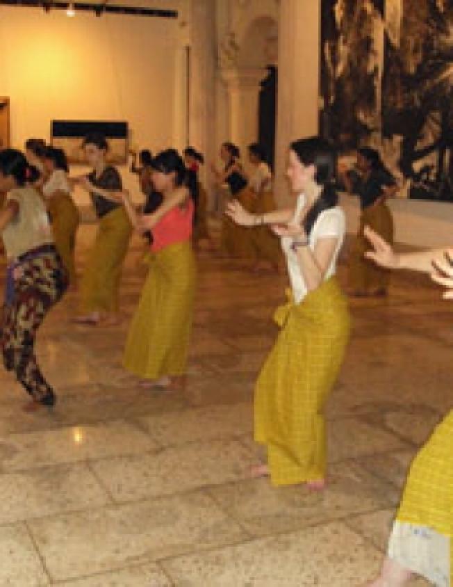 Balinese Dance Lesson