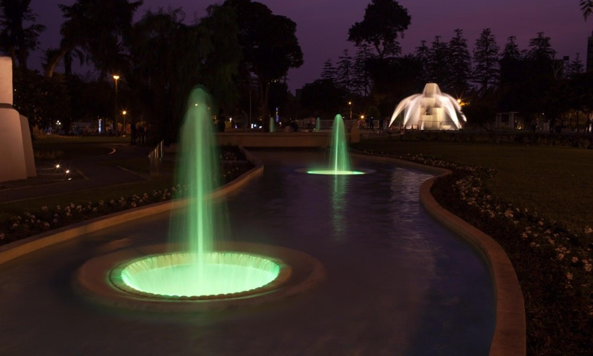 Fountains of Lima and Dinner Show