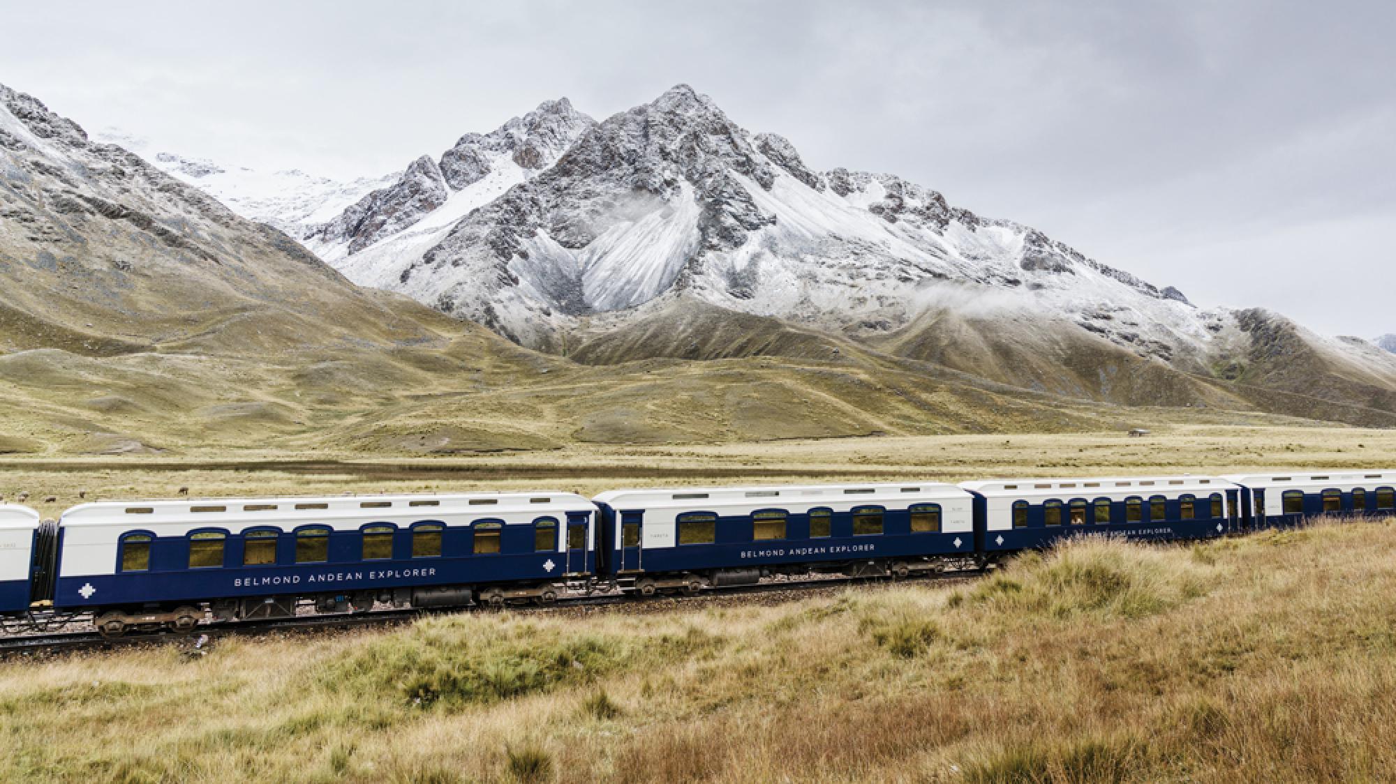 Exploción andina en Belmond - 1 Noche en el tren nocturno - De Puno hacia Cusco
