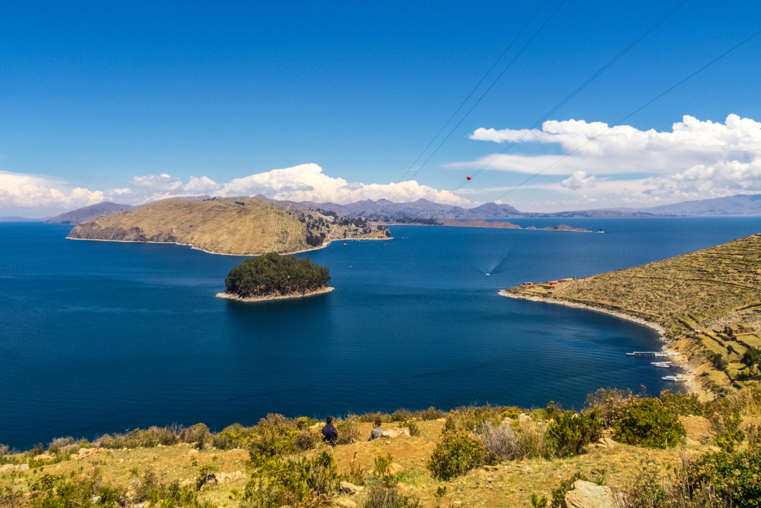 Day Cruise Puno to La Paz by Catamaran and buses