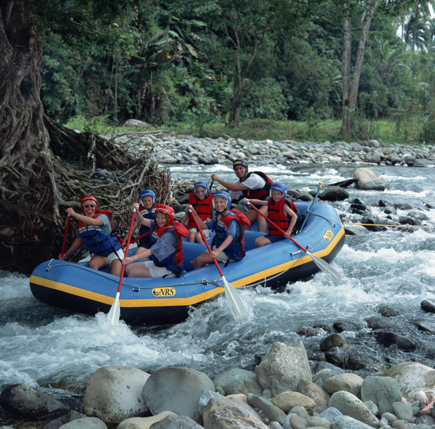Pejibaye River Class I-II Rafting Tour