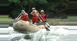 Costa Rica Rafting en Río Tenorio Clase III/IV