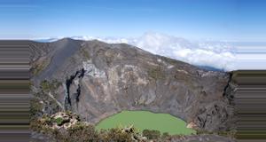 Costa Rica Irazu Volcano, Lankester Gardens, and Orosi Valley