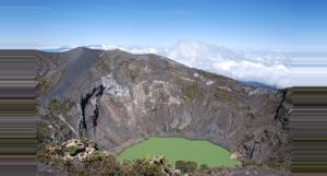 Costa Rica Volcán Irazú, Jardines Lankester, y Valle de Orosi