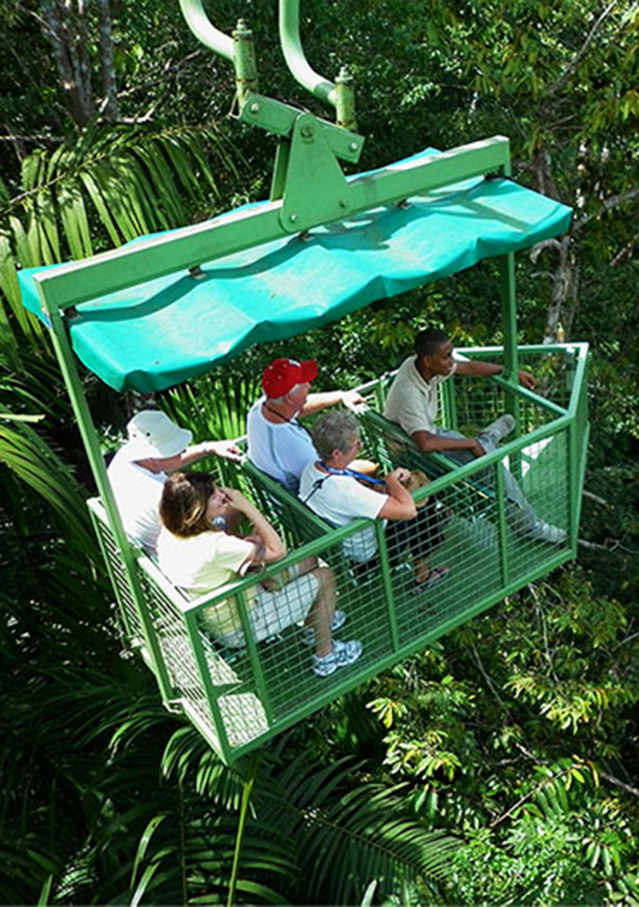 Teleférico Gamboa y Exhibiciones de Vida Silvestre