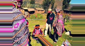 Peru Comunidad Amaru, Hacienda Llama y el Mercado Pisaq