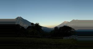 Guatemala Amanecer en Antigua