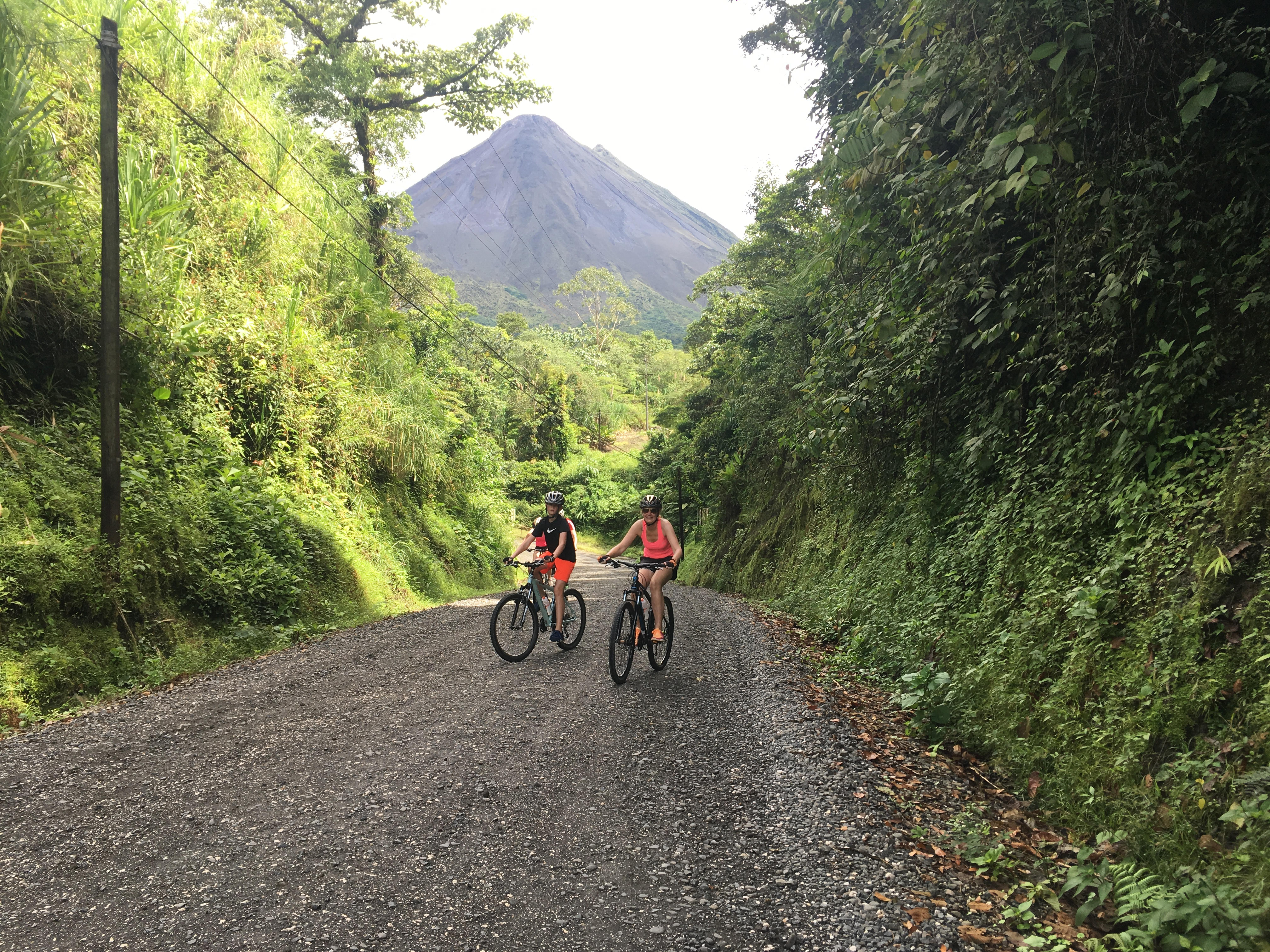 Arenal Lake to El Castillo - Mountain Biking