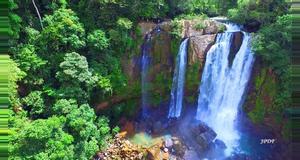 Costa Rica Tour de Rapel en las Cataratas Barú