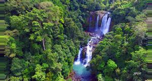 Costa Rica Baru Falls Rappelling Tour