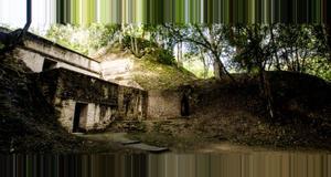 Belize Cahal Pech Mayan Ruins