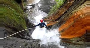 Ecuador Canyoning Baños – Rio Blanco level 2.2.III