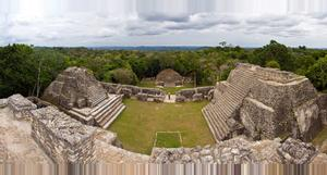 Belize Templo Maya Caracol
