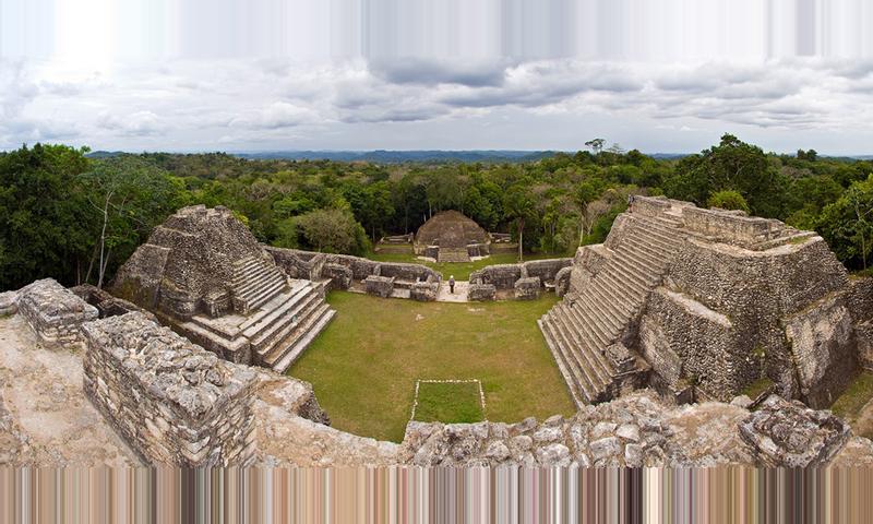 Caracol Maya Temple