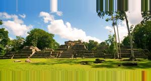 Belize Caracol Mayan Ruins