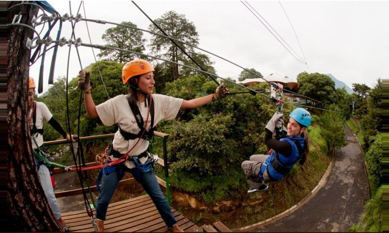 Circo del Aire Canopy Antigua-CS