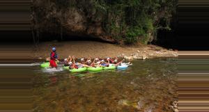 Belize Caverna Tubing y El Zoológico de Belice