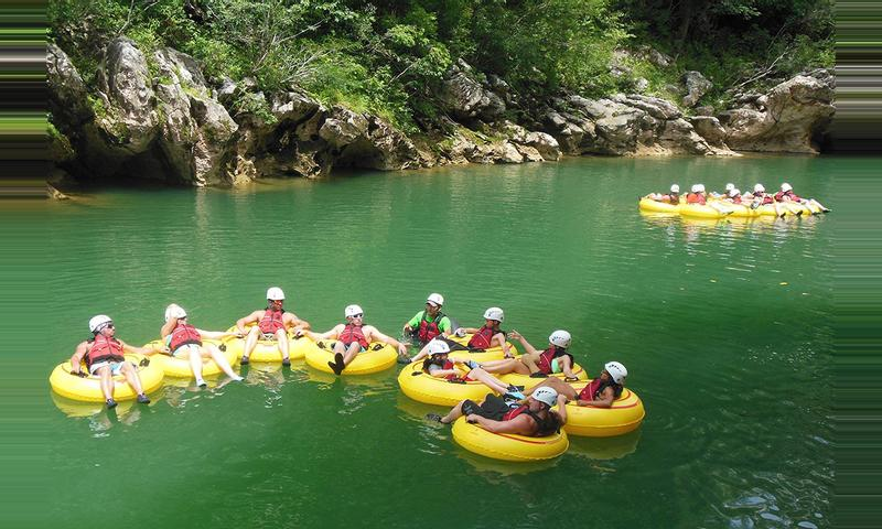 Cave Tubing & Zipride at Caves Branch Outpost