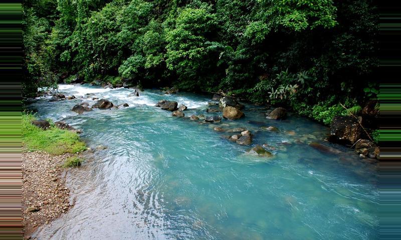 La aventura del Río Celeste