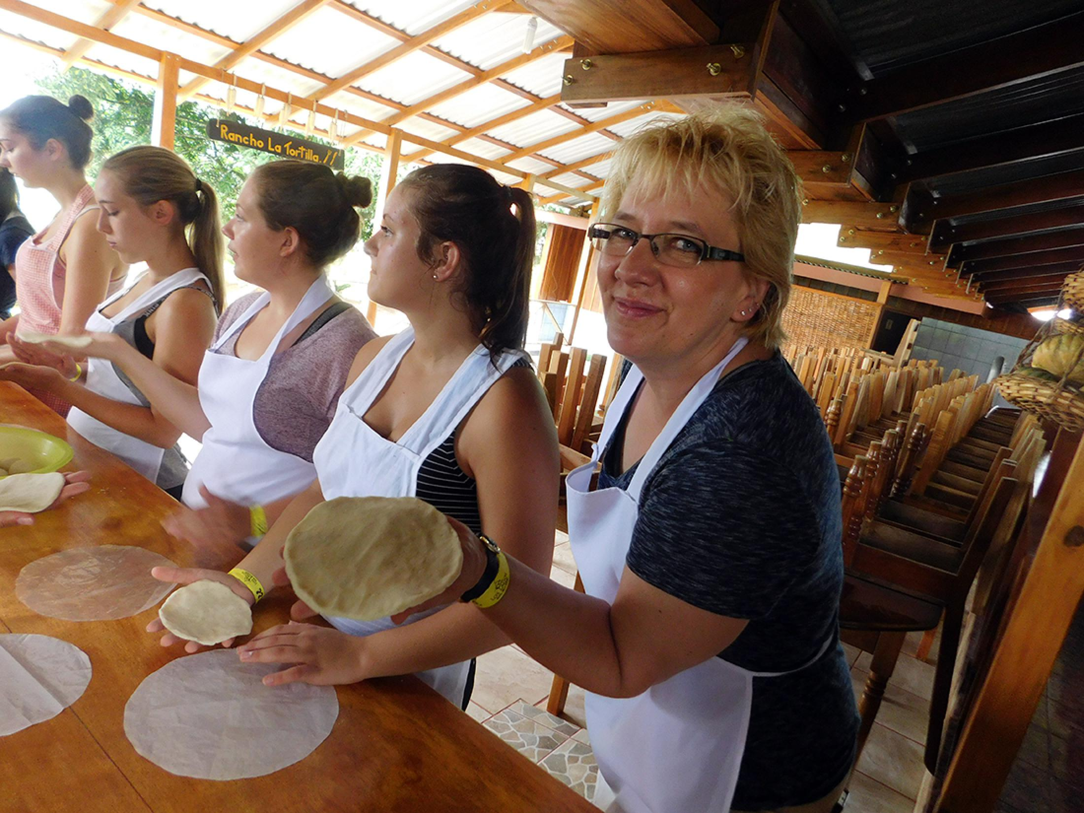 Cooking Class and Tortilla Making