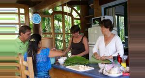 Guatemala Clases de cocina en el lago Atitlán