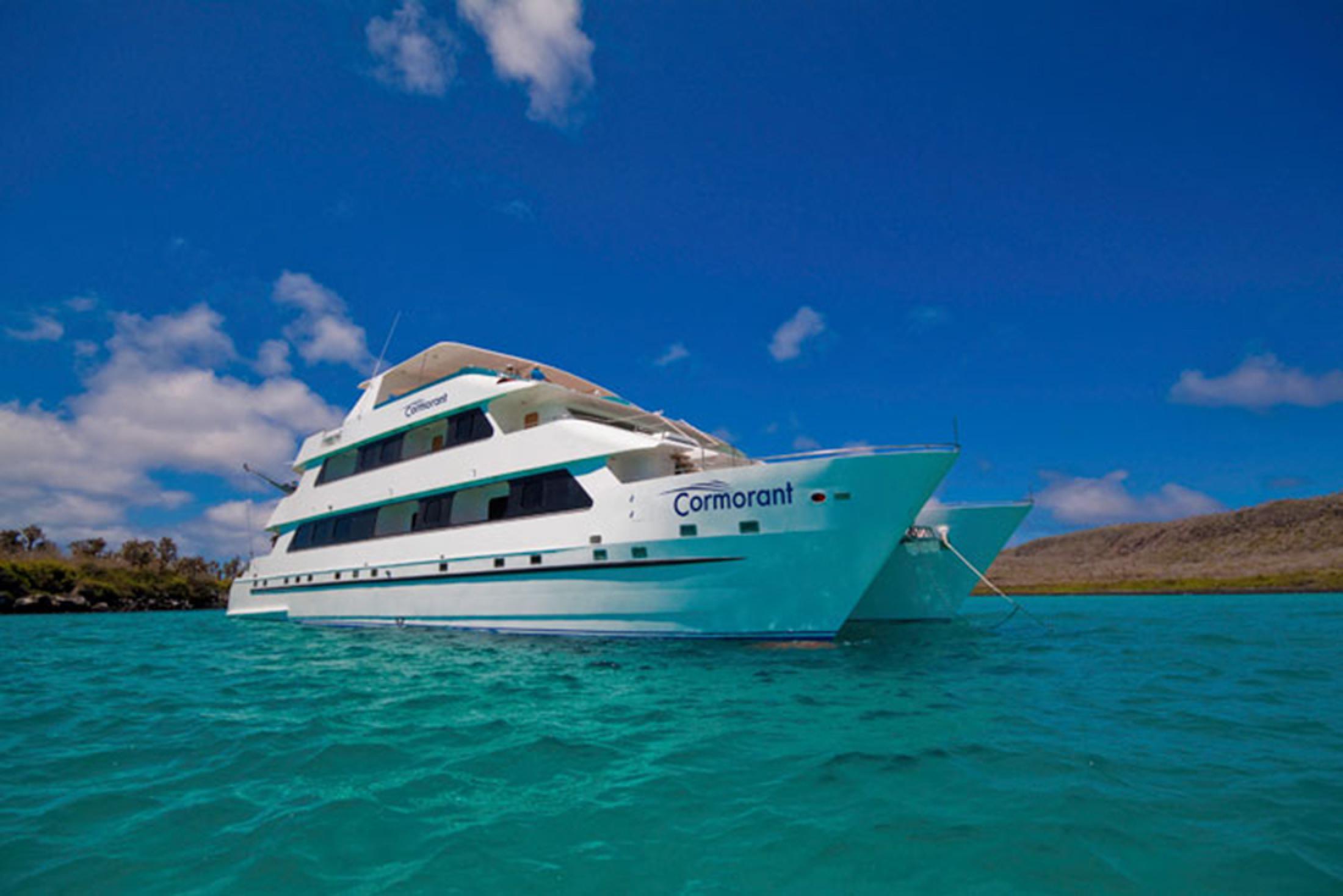 Luxury Cormorant Cruise Galápagos Islands