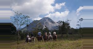 Costa Rica Cabalgata al volcán Don Tobías