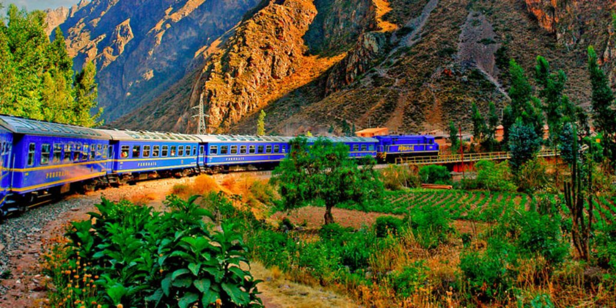 Expedition Train 34 Aguas Calientes to Poroy