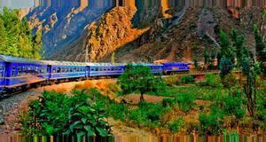 Peru Expedition Train Nro 34- Aguas Calientes to Poroy