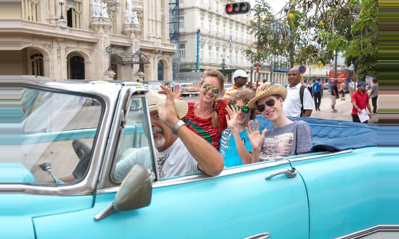 Tour in Classic Car around Havana