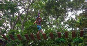 Costa Rica High Ropes Course Quick Jump and Ceiba Rappel Tour