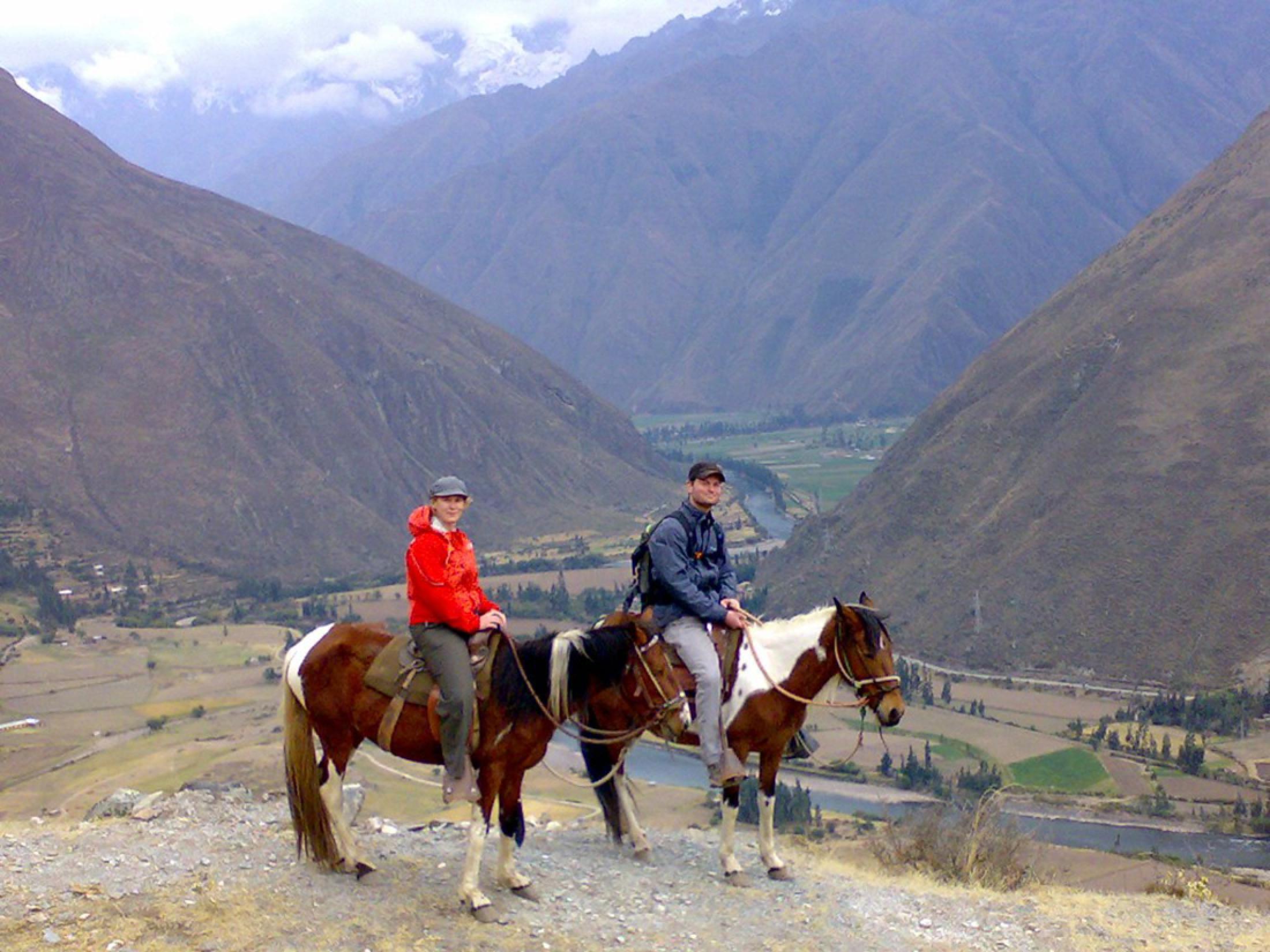 Horseback Riding at Sacsayhuaman