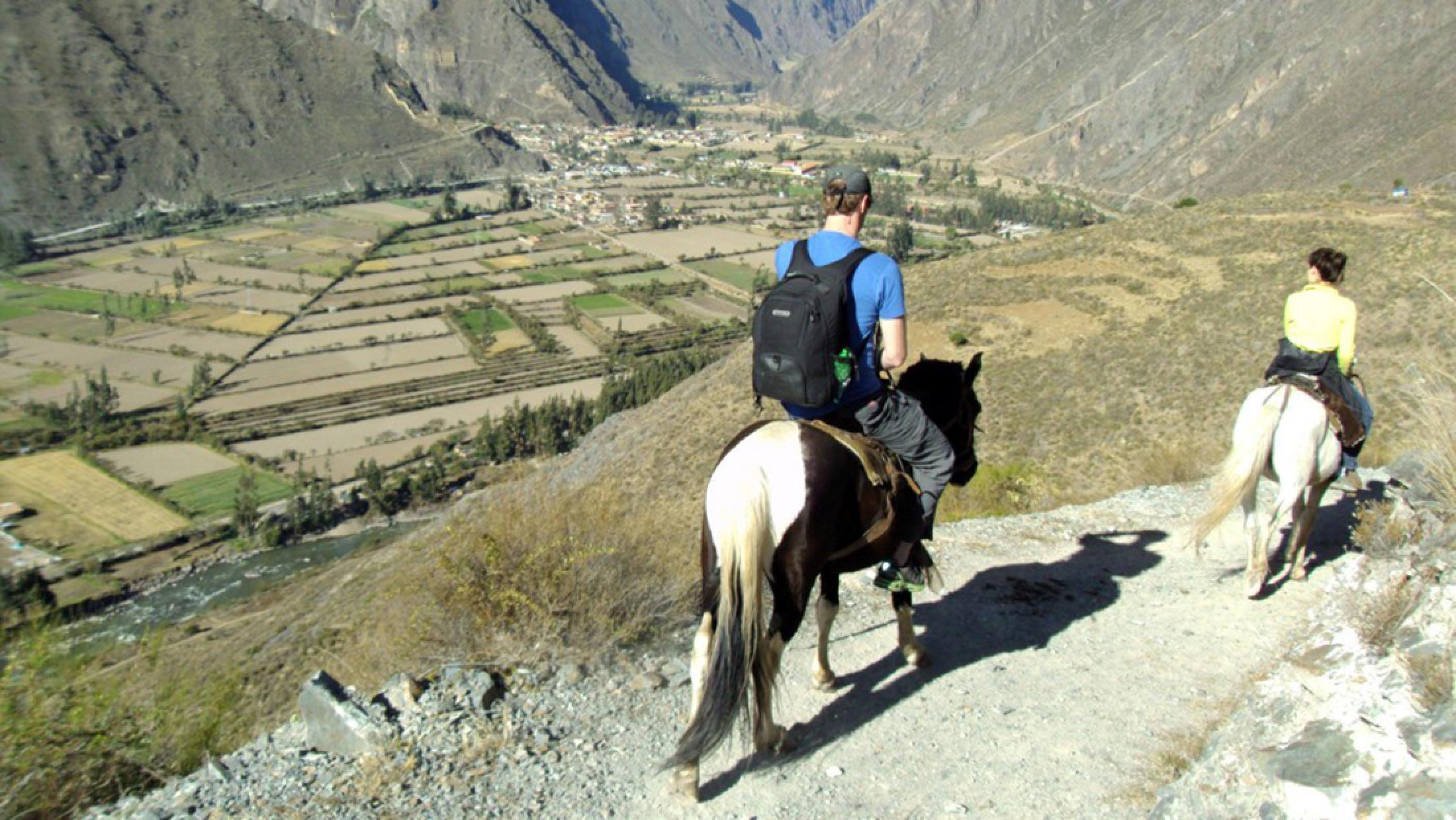 Full-Day Horseback Riding Sacsayhuaman