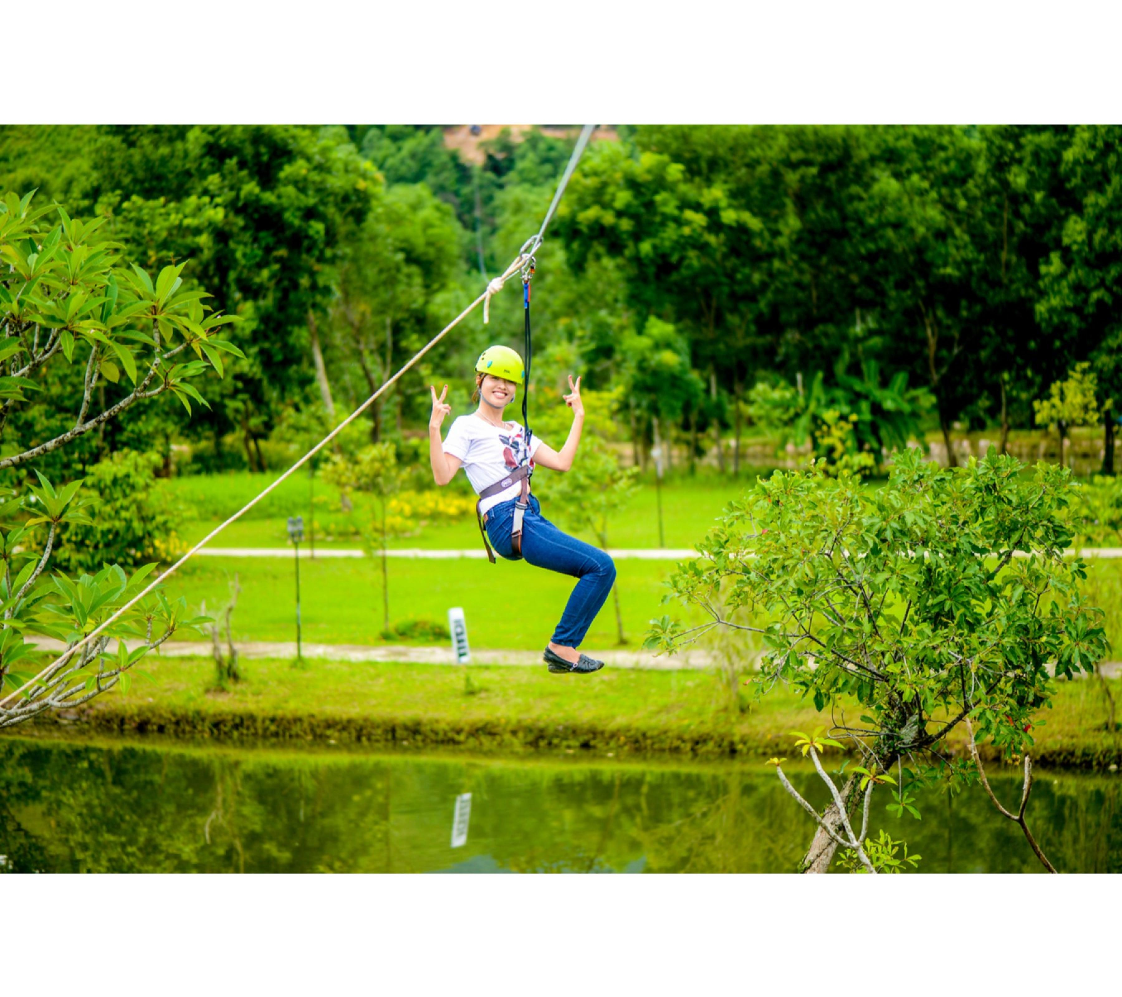 Zip-line and Highwire Full-Day Adventure