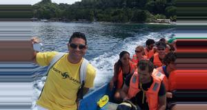 Panama Isla Grande Truck Tour
