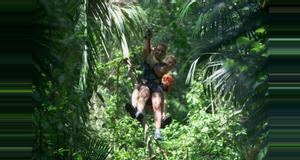 Guatemala Ixpanpajul Natural Park
